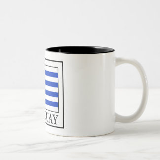 Uruguay Two-Tone Coffee Mug