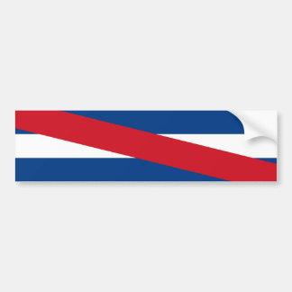 Uruguay/Uruguayan Artigas Flag Bumper Sticker