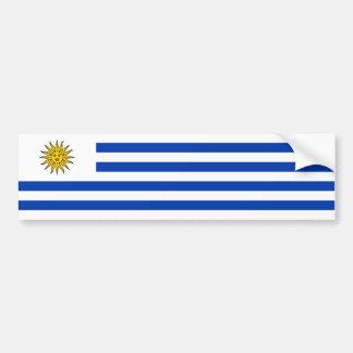 Uruguay/Uruguayan Flag Bumper Sticker