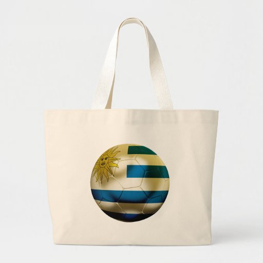 Uruguay World Canvas Bags