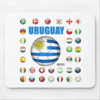 Uruguay World Cup 2010 T-shirts Mouse Pad