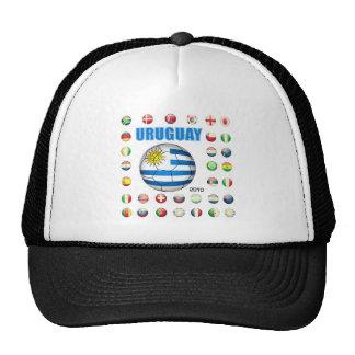 Uruguay World Cup 2010 T-shirts Trucker Hat