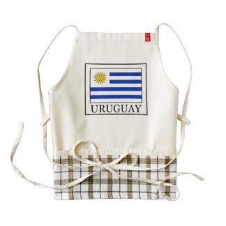 Uruguay Zazzle HEART Apron
