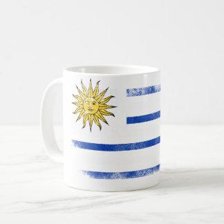 Uruguayan American Flag   Uruguay and USA Design Coffee Mug