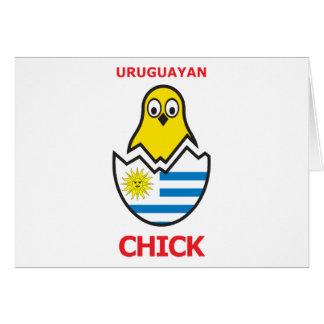 Uruguayan Chick Card