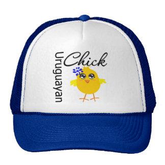 Uruguayan Chick Trucker Hat