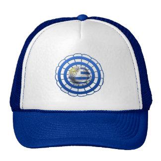 Uruguayan Cockade emblem of Uruguay gifts Trucker Hat