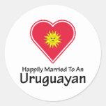 Uruguayan feliz casado etiquetas