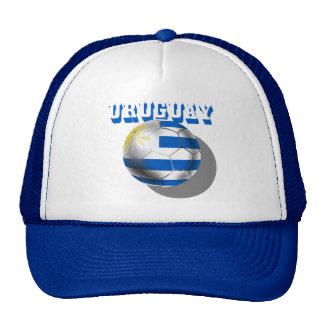 Uruguayan flag of Uruguay logo futbol soccer love Trucker Hat