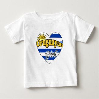 Uruguayan Girl Baby T-Shirt