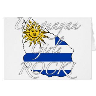 Uruguayan Girls Rock! Card