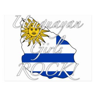 Uruguayan Girls Rock! Postcard