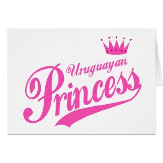 Uruguayan Princess Card