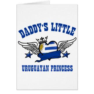 Uruguayan princess designs card