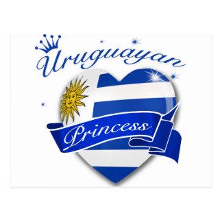 Uruguayan Princess Postcard