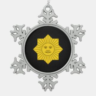 Uruguayan Sun of May Ornament