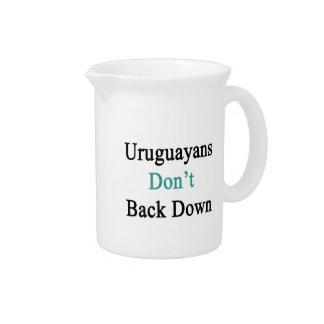 Uruguayans Don't Back Down Beverage Pitchers