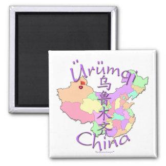 Urumqi China 2 Inch Square Magnet