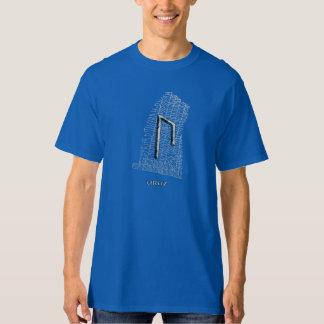 Uruz rune symbol on west Rok runestone T Shirt