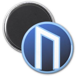 Uruz Ur Rune 2 Inch Round Magnet