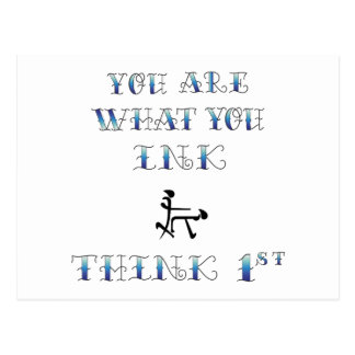 URwhat you Ink Think Post Cards