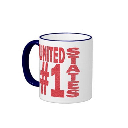 US #1 COFFEE MUG