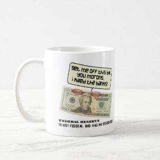 US 20 dollar bill Federal Reserve Coffee Mug