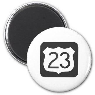 US-23 Highway Magnet