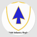 US 26th Infantry Regiment Stickers