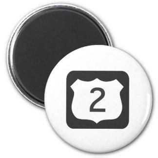 US-2 Scenic Highway Magnet
