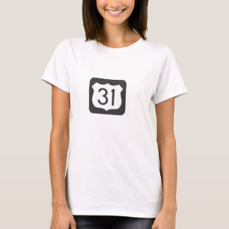 US-31 Scenic Highway Fitted T-Shirt