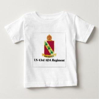 US 43rd ADA Regiment Tee Shirt