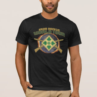 """US 4TH INFANTRY DIVISION """"IRON HORSE"""" WORLD TOUR A T-Shirt"""