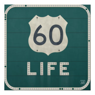 US 60 Life Panel Wall Art