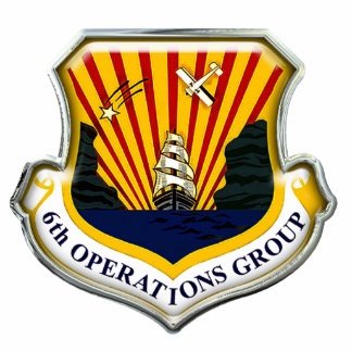 US 6th Operations Group Statuette