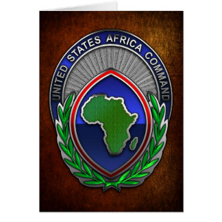 US Africa Command Card