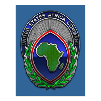US Africa Command Postcard