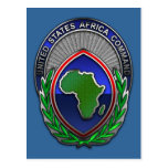 US Africa Command Postcards