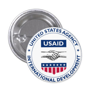 US AID Agency for International Development Pin