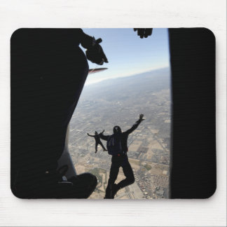 US Air Force Academy Parachute Team Mouse Pad