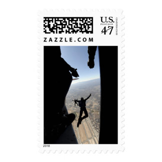 US Air Force Academy Parachute Team Postage Stamp