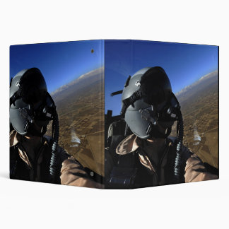 US Air Force Aerial Combat Photographer 3 Ring Binder