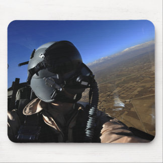 US Air Force Aerial Combat Photographer Mouse Pad
