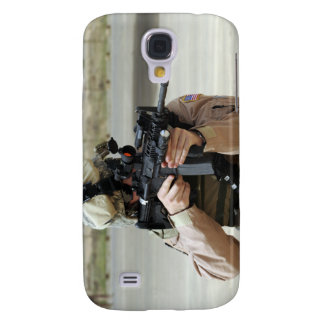 US Air Force Airman conducts security Galaxy S4 Case