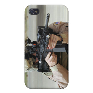 US Air Force Airman conducts security iPhone 4 Case