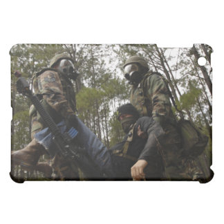 US Air Force Airmen carry a simulated casualty iPad Mini Covers