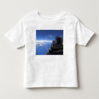 US Air Force captain looks out over the sky Toddler T-shirt