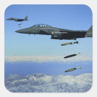 US Air Force F-15E Strike Eagle aircraft Sticker