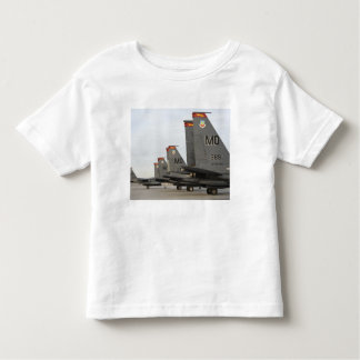 US Air Force F-15E Strike Eagles Toddler T-shirt