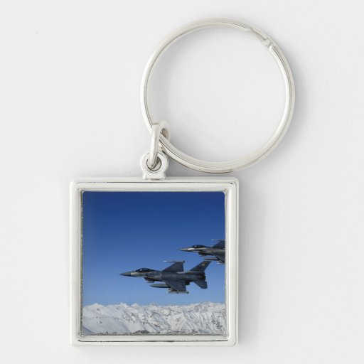 US Air Force F-16 Fighting Falcons Keychains